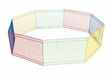 Animal Guinea Pig Pet Exercise Play Pen Portable Fence In/Outdoor Multi Color