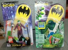 Batman 2003 Mattel Quick Fire Joker and Killer Croc  Villians Rouges Lot MIP
