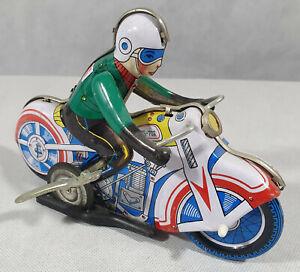 Motorcycle, Tin Toy, MS-702 Vintage, Motorbike Tin Plate Toy