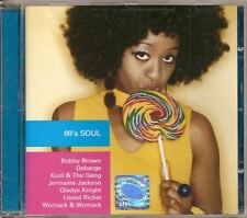 80's SOUL POLISH CD KOOL & THE GANG JERMAINE JACKSON BOBBY DEBARGE DIANA ROSS