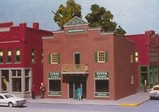 Smalltown USA/RIX - HO #699-6000 City Buildings -- Town Bank - NIB
