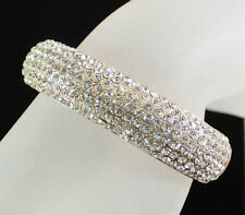 Bridal Accessories Clothing, Shoes & Accessories KOOL RHINESTONE SLAVE GLOVE BRACLET W/ RING PARTY B050