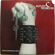 AUGUST REDMOON Fools Are Never Alone 1982 US ORG Private Metal LP Black Wax