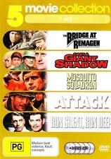 5 Movie Collection - War The Bridge at Remagen Cast a Giant Shadow Mosq