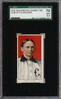 Rare 1909-11 T206 Otto Kruger Sovereign 350 SGC 70 / 5.5 EX + Low Population