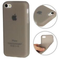 Silikon Case Schutzhülle für Apple iPhone 5C in grau Schutzcase Hülle Backcover