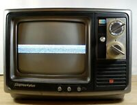 Sharp Linytron Plus Portable TV 1976 Color Model 9B12 Made in Japan True Vintage