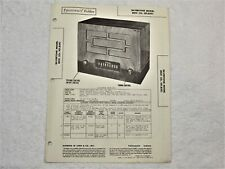 Sams Photofact Repair Manual Set 49 #19 Silvertone mod. 8051   / 1948