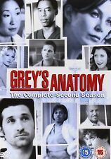 Grey's Anatomy Series 2 Complete Ellen Pompeo, Sandra NEW & SEALED UK R2 DVD
