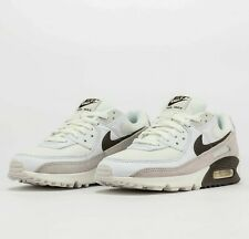 Nike Air Max 90 White Baroque Brown CW7483-100 Airmax Running Shoes Sneakers