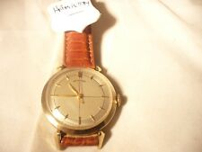 gents original gold cased leather  strap