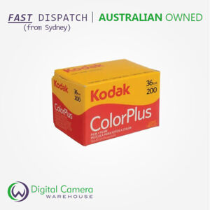 Kodak VR 35mm Colour Plus Film - 200 ISO - 36 Exposures - Single (K-PF6031470)