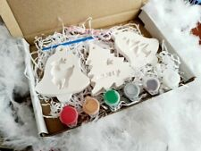 paint your own Christmas ornament