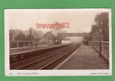West Reading Railway Station RP pc unused Farrer Ref H448