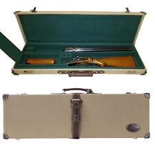 Tourbon Shotgun Case Gun Storage Slip Bags Scabbard Canvas Leather Clay Shooting