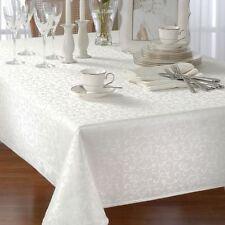 Lenox Opal Innocence White 60x84 Tablecloth