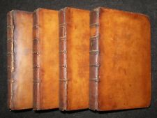 A Collection of Poems in Four Volumes (1770) Several Hands - Leather Binding