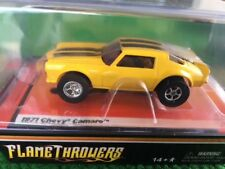 Sold Out Aw Nos Auto World Xtraction R 11 71 Yellow Lighted Camaro Ho Slot Car