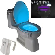 GlowBowl Motion Activated Toilet Nightlight - New