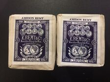 2 Vintage Original Unopened Suppliers Packs Of E.Remy & Cie Starch Circa 1930