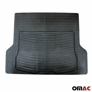 OMAC Cargo Trunk Floor Mat Liner for Car SUV Truck All Weather Semi Custom Fit