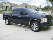 CHROME FENDER TRIMS for 2007-2013 Chevy Silverado - Wheel Well Mouldings