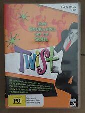 Twist - A Ron Mann Film - DVD - How Rock n Roll Got Its Soul - DVD - FREE POST!!
