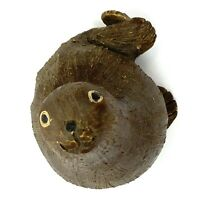 Vtg 1980s Artesania Rinconada SEAL SEA LION Figurine Uruguay Retired Signed