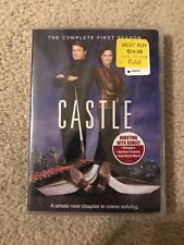 Castle: The Complete First Season (DVD, 2009, 3-Disc Set) NEW