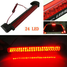 24LED Car SUV Rear Windscreen High Mount Third Brake Tail Warning Stop Light Red