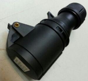 16A 230V 3pin IP44 Rated Black Coupler Socket