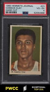 1960 Hemmets Journal Boxing Cassius Clay Muhammad Ali ROOKIE #23 PSA 4 (PWCC-E)