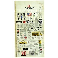New York Diary Style Transparent Diary Deco Stickers Labels Scrapbook Journal
