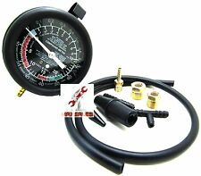 Fuel Pump & Vacuum Gauge Tester Pressure Test New Auto Mechanic Tester Repair HD