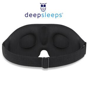 Eye Mask Sleep Sleep Mask Blackout Sleeping Mask By Deep Sleeps