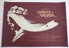 LAWRENCE OF ARABIA MONDO POSTER OLLY MOSS VERY RARE LIMITED EDITION SCREEN PRINT