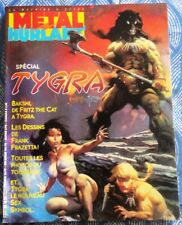 MÉTAL HURLANT - HS : SPECIAL TYGRA (Fire and Ice), Baksi, Frazetta - 03/1983