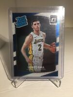 2017-18 Panini Donruss Optic Rated Rookie #199 RC LONZO BALL Lakers