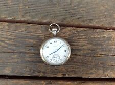 Very Nice 1926 Elgin Pocket Watch in Silveroid Case - Front Hinged Movement