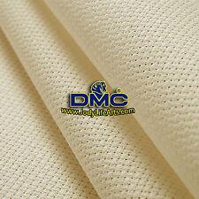 Cross Stitch Aida Fabric Cloth 14ct (count) cream (DMC 712) - 50cmX50cm, free SH