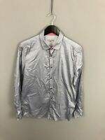 TED BAKER Shirt - Size 3 Medium - Grey - Great Condition - Men's