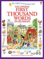 First Thousand Words in Russian by Heather Amery - BRAND NEW - 9781409570165