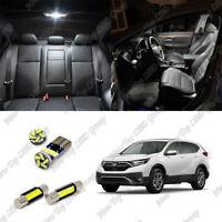 White Interior LED Lights Dome Map Package Kit for Honda CRV 2013-2019 2020 CR-V
