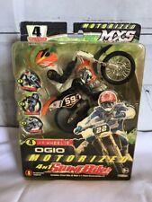 NEW 2010 Jakks Pacific OGIO Motorized MSX 4 n 1 Stunt Bike Orange NIP