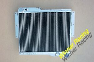 ALUMINUM RADIATOR FOR MG MGB GT ROVER V8 ENGINE CONVERSION SWAP M/T 1973-1976