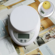 Newest 5kg Weight Electronic Kitchen Food Weighing Scale Digital Balance