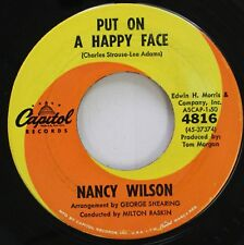 Soul 45 Nancy Wilson - Put On A Happy Face / You Don'T Know What Love Is On Capi