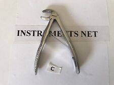 PEDO Dental Surgery Tooth Extracting Forceps # C