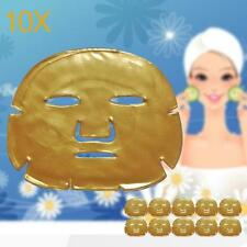 10x Gold Bio Collagen Crystal Facial Mask Anti-aging Hydrating Face Care Girl PK