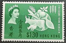 HONG KONG 1963 FREEDOM FROM HUNGER SG 211 MNH OG